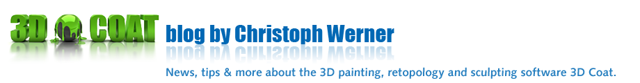 3D-Coat blog by Christoph Werner