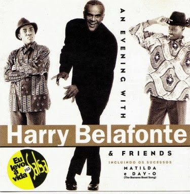 Cover Album of HARRY BELAFONTE  - AN EVENING WITH HARRY BELAFONTE AND FRIENDS