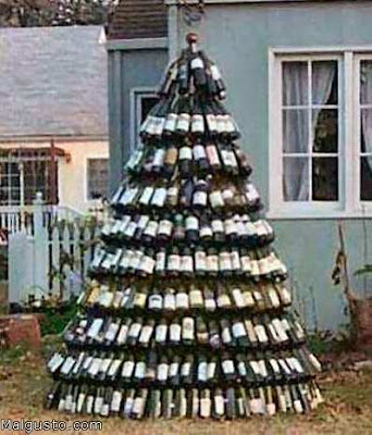 Mundo raro y curioso extra os rboles de navidad hechos - Arbol de navidad hecho en casa ...