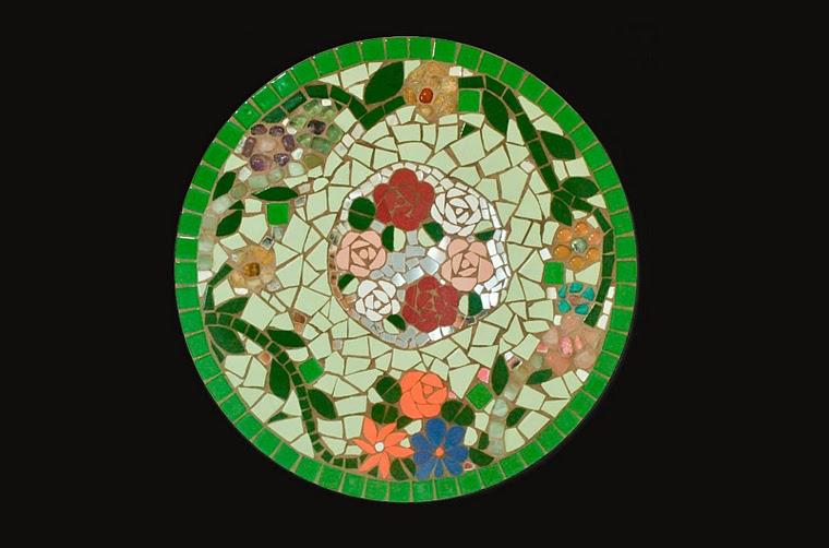 Mandala das Flores e Cristais