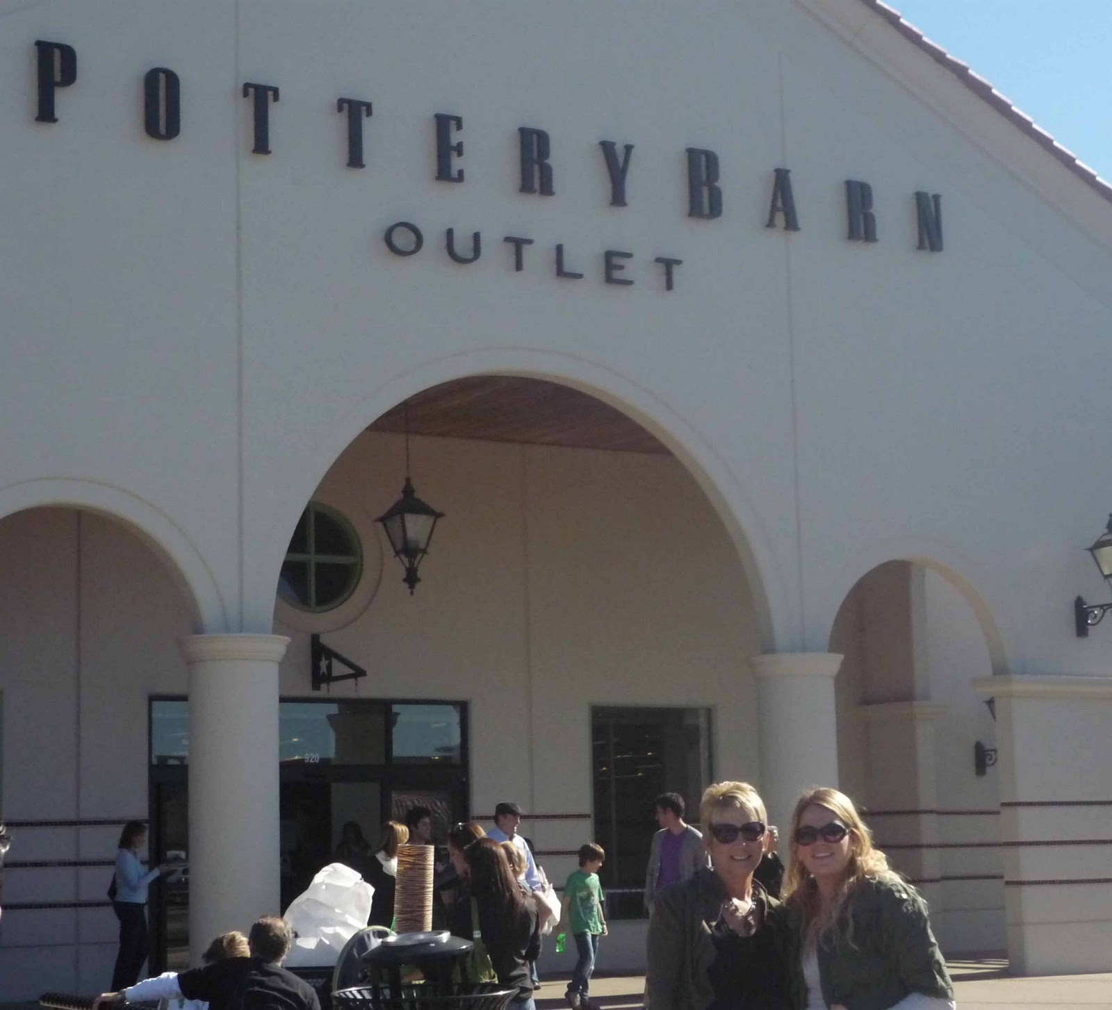 Pottery Barn Outlet Visit–and Finds!
