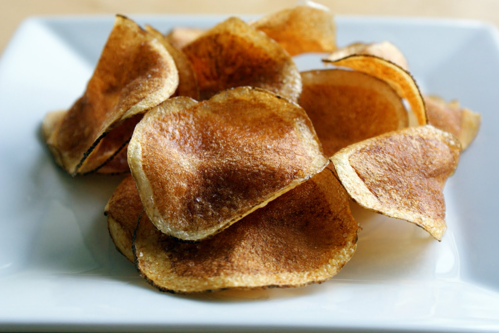 The Merlin Menu: Homemade Potato Chips
