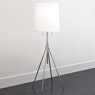 Lighting: Tripod Esque Lamp From West Elm