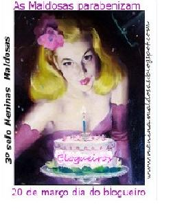 - Selo Dia do Blogueiro