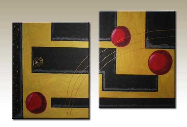 Venta de cuadros tripticos abstractos for Cuadros tripticos online