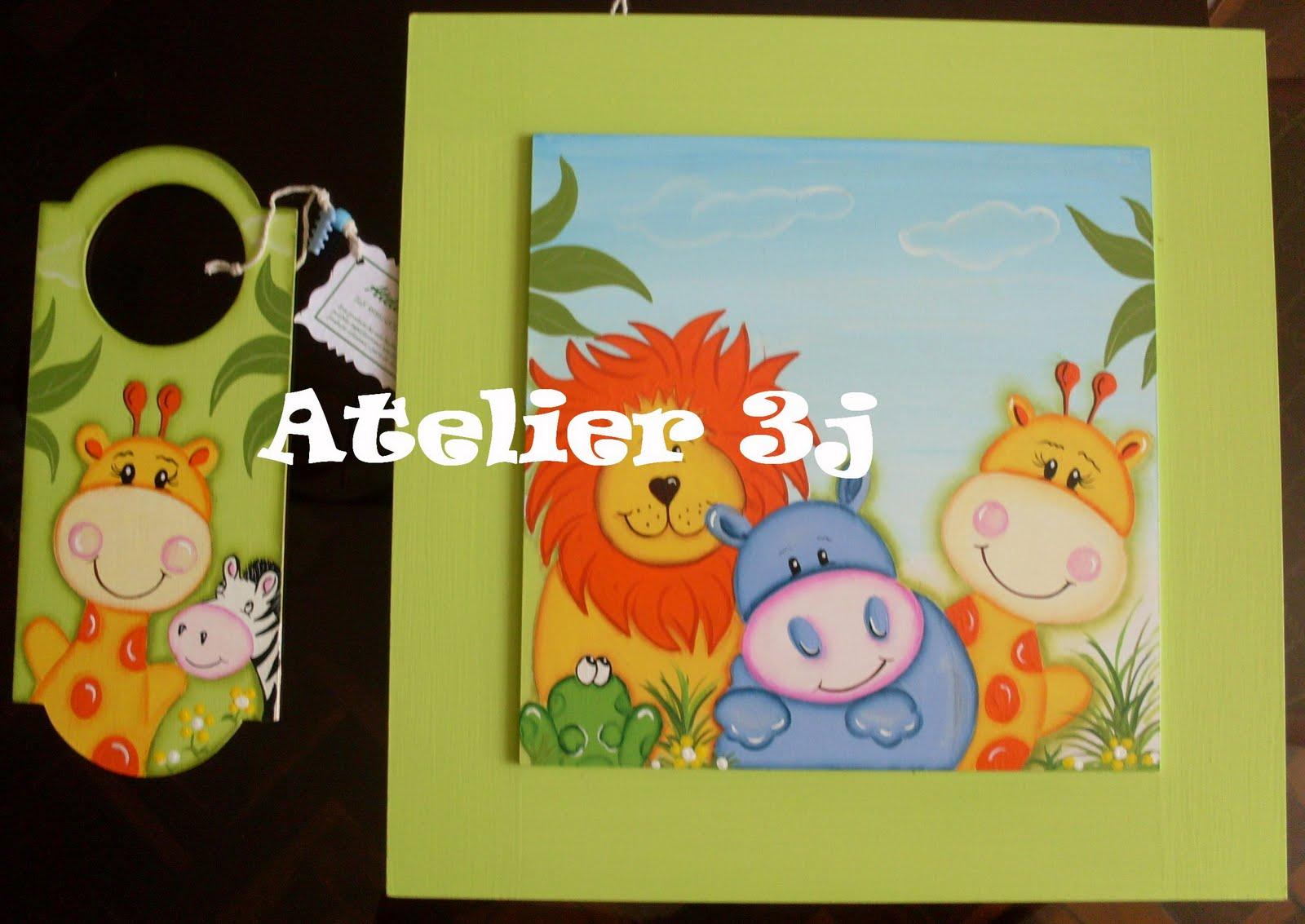 Pin mural infantil animales en la selva boutique del papel - Papel pintado infantil ...