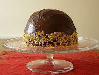 Chocolate Mousse Dome Cake