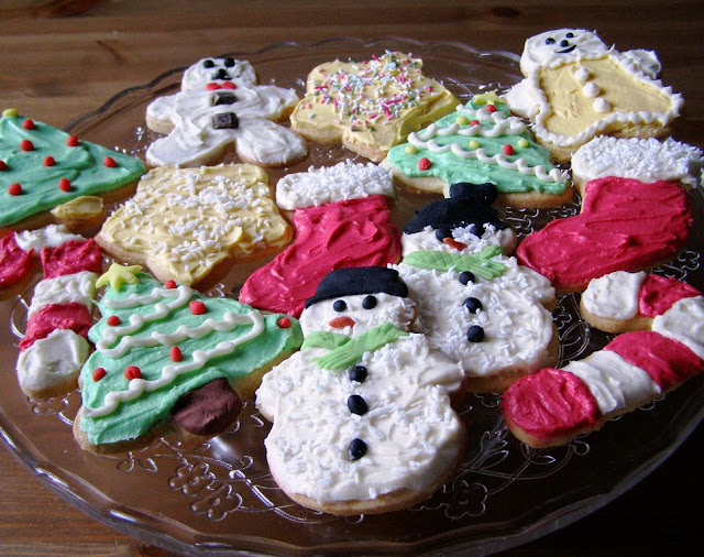 Maple Spice Christmas Cookies