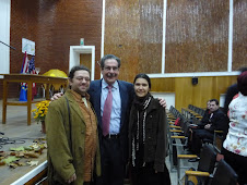 Busteni - octombrie 2009 - Daniel, Michael Strachowitz si Larisa