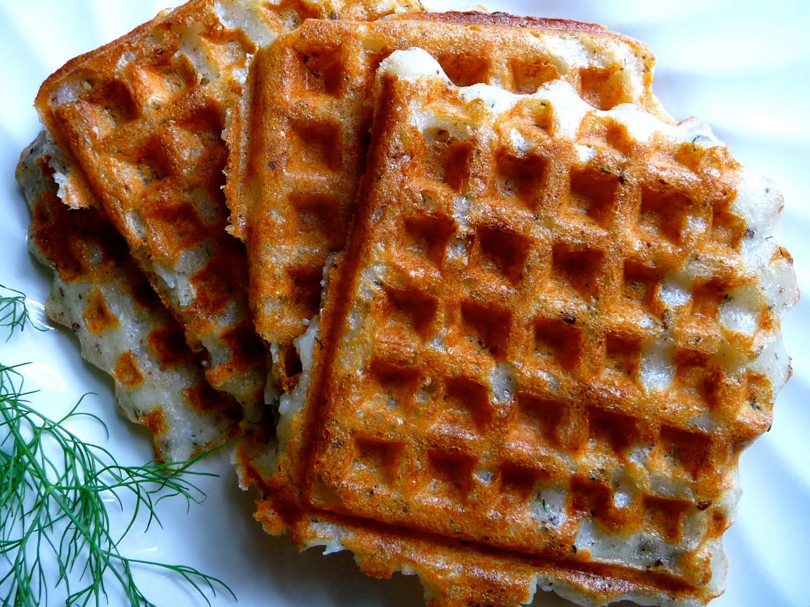 The Daily Dietribe: Savory Potato Waffles a.k.a. Waffle Fries