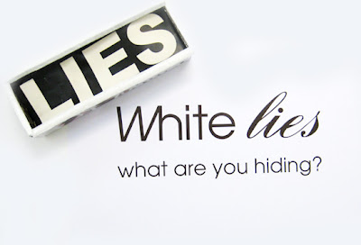 White Lies tagline / Box