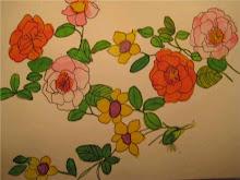 el arte de rosa spinosa