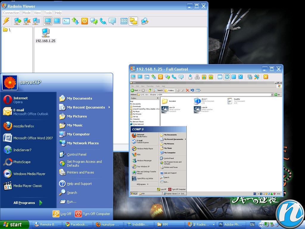 Скачать radmin 3 (remote administrator) для удаленного управления компьютер