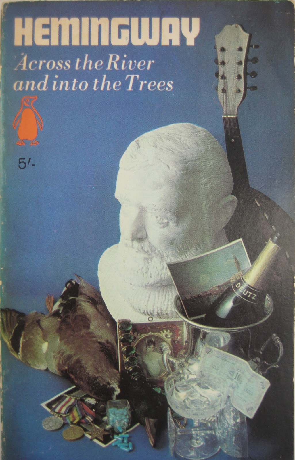 Screen Pages Across The River And Into The Trees 1950