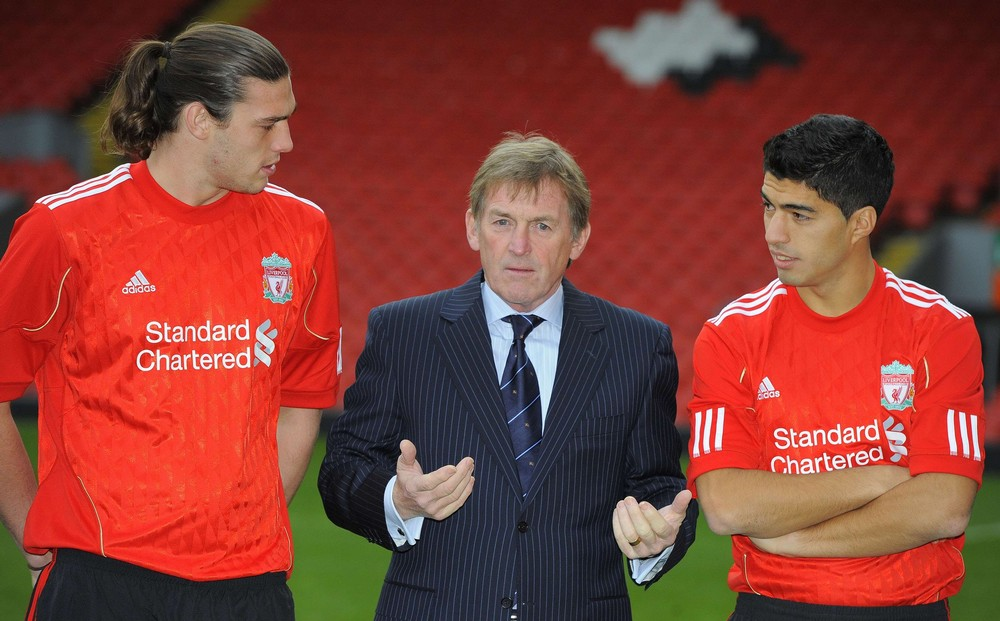 carroll and suarez. Andy Carroll, Kenny Dalglish