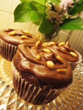 Cupcakes med pinjenötter