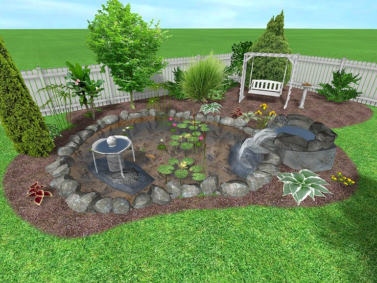 Diy landscape for Simple diy garden designs