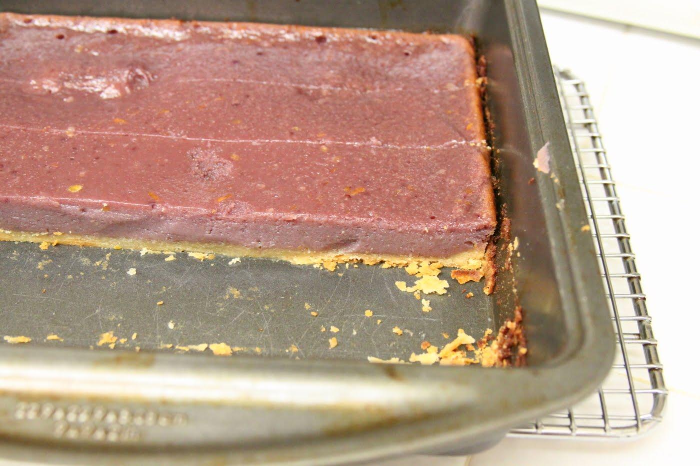 ShowFood Chef: Blackberry Buttermilk Pie Bars