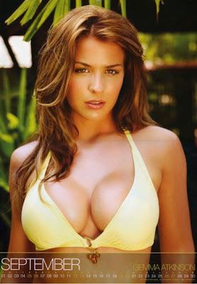 Gemma+Atkinson+2009+Bikini+Calendar+9 Marisa Miller, Bikini. In a photo from her 2009 calendar, Sports Illustrated ...