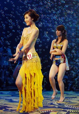 Chinese Girl Yin Mi Wins Miss Bikini Competition 2009