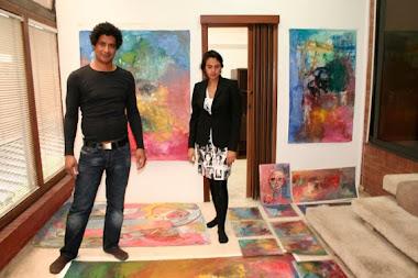 Joner Rojano y Ana María García, Curadora de su obra