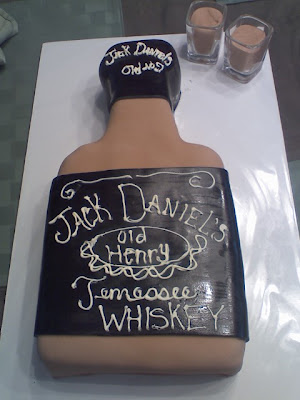 Chrissy S Creative Cakes Jack Daniels Birthday Cake