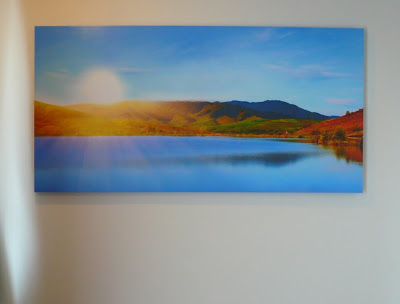 large canvas photo print, sunrise photo for feng sui