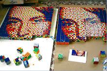 Rubik küpe ve kubizme farklı bir yanaşma