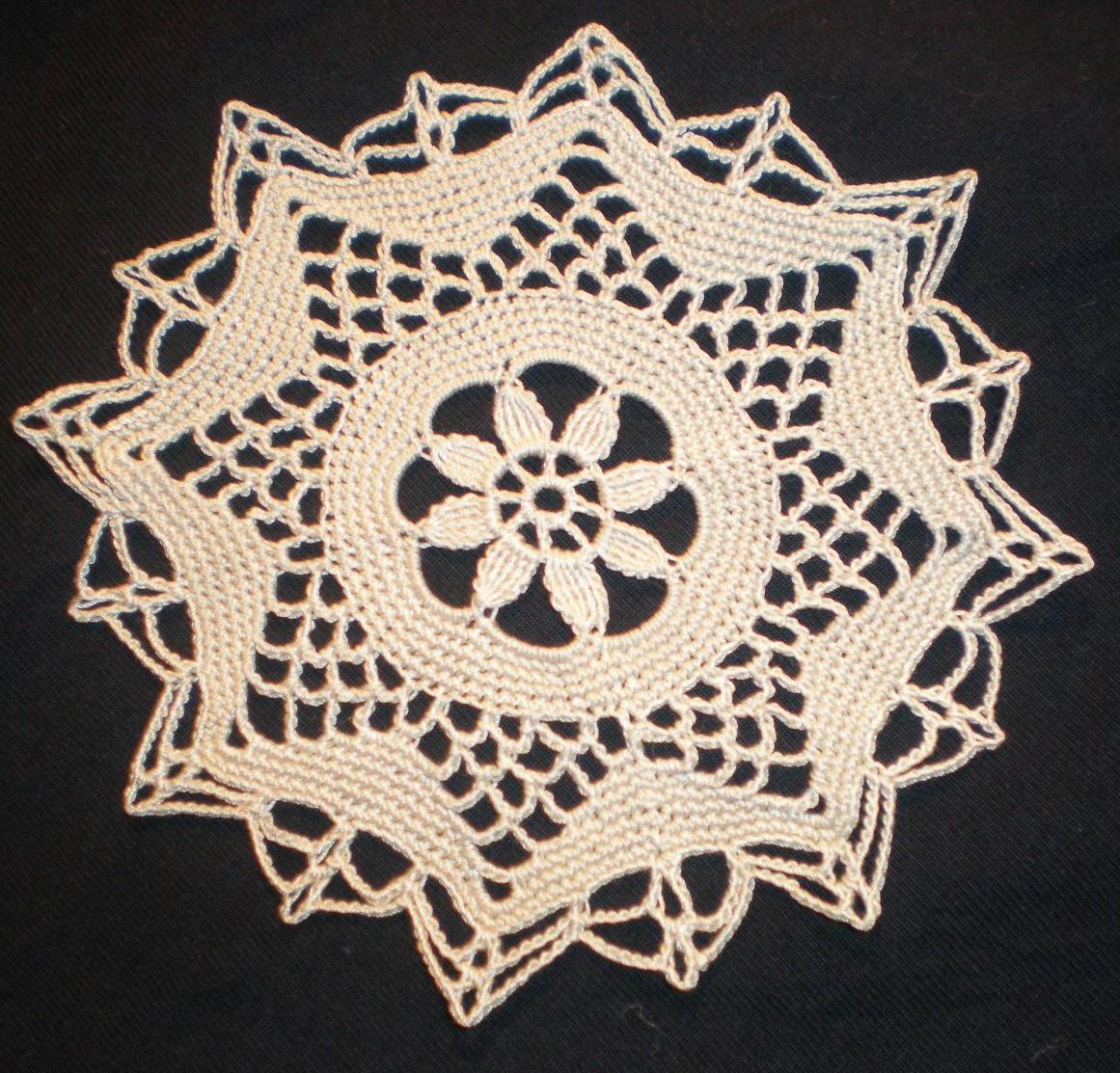 THREAD CROCHET TABLECLOTH PATTERNS – Easy Crochet Patterns