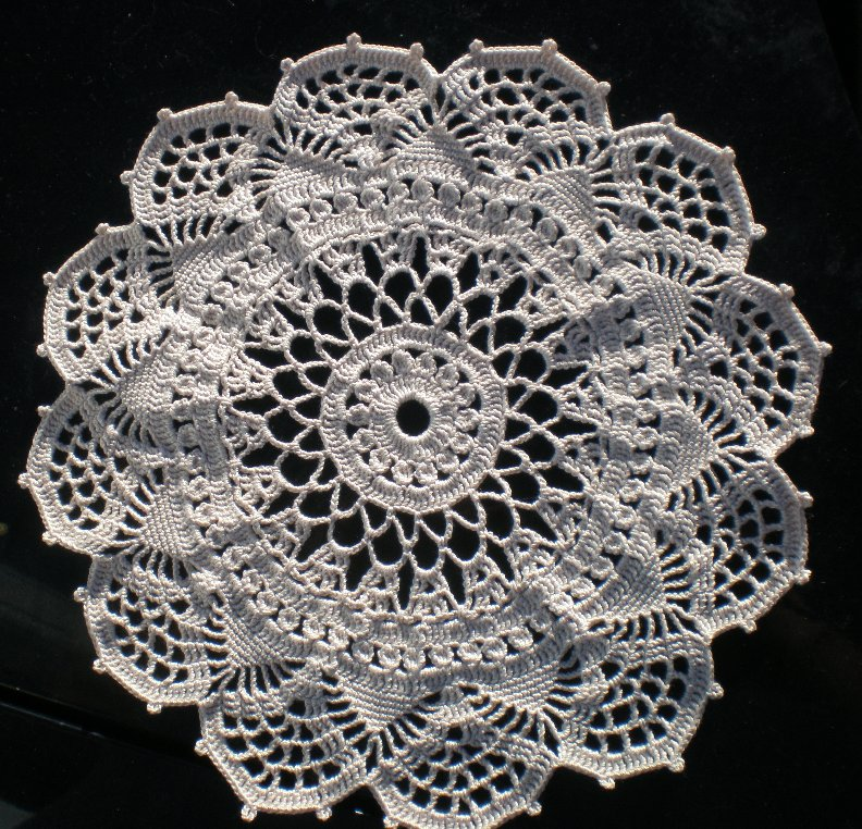 Free Printable Crochet Lace Patterns : crocheted lace: Corticelli Venetian Pattern Doily from ...