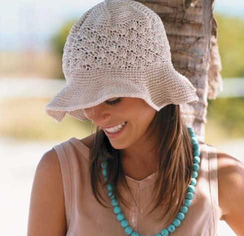 KNIT SUMMER BRIM HAT PATTERN 1000 Free Patterns