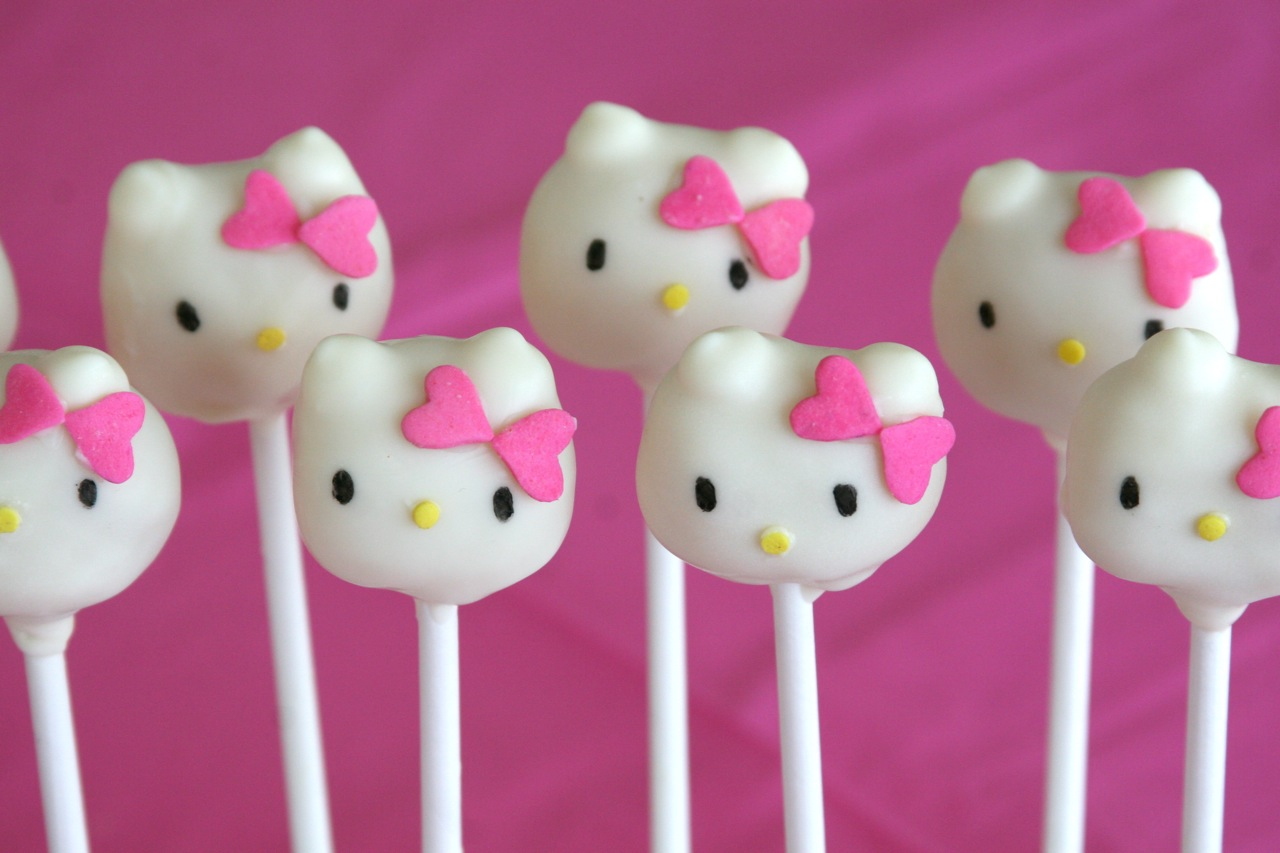 how to make round cake pops