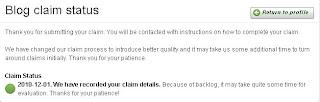 claim blog