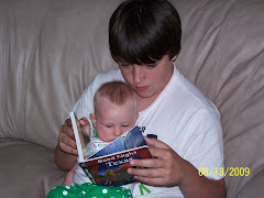 Collin reading me a TEXAS book?!?!