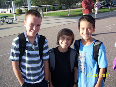 First day of 5th grade with Dalton and Yuta