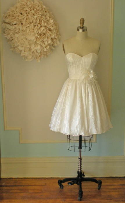 non traditional wedding dress. a non-traditional wedding,