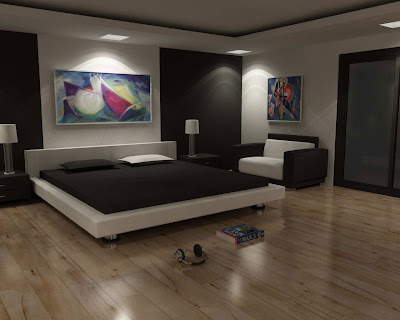 luxury bedroom flooring design