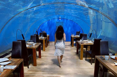 Luxury Interior Design Undersea Restaurant