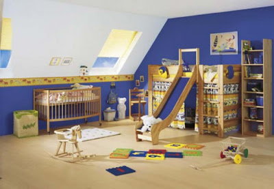 Room Design  Kids on Kids Rooms Blue Color