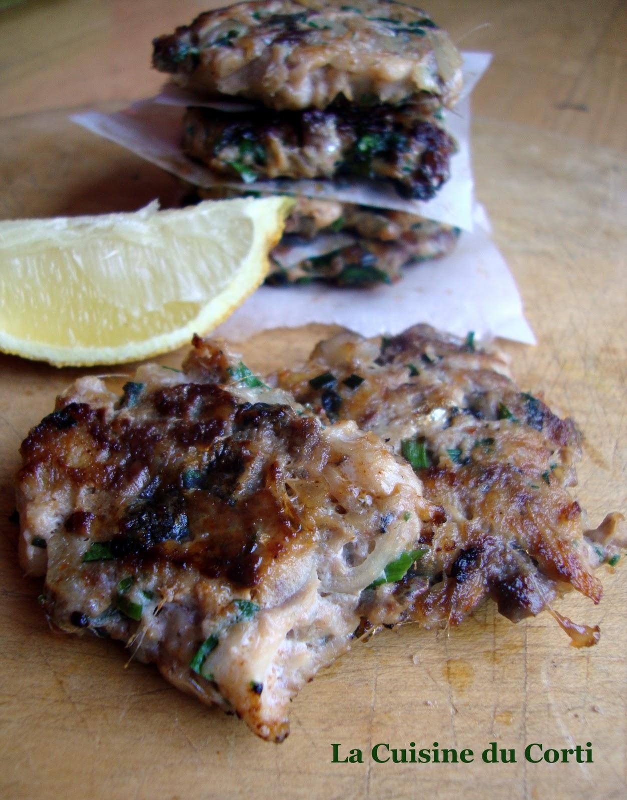 La cuisine du corti croquettes de sardines aux fines herbes - Cuisiner des filets de sardines fraiches ...