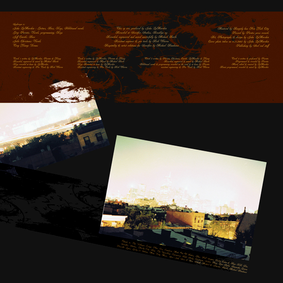 Back LP cover