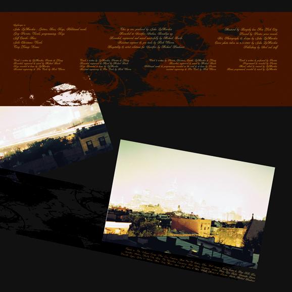 Back LP cover