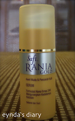 Serum Safi Rania Gold Memang Best!!