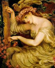 """Dante Gabriel Rossetti: """"A Sea Spell"""" 1877"""