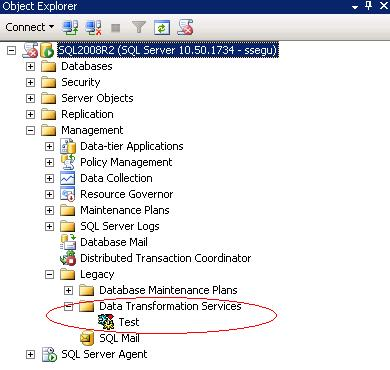 sql server management 2005