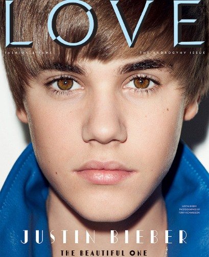 justin bieber love magazine cover. Justin Bieber is the cover