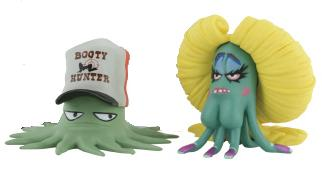 Squidbillies mini-figures