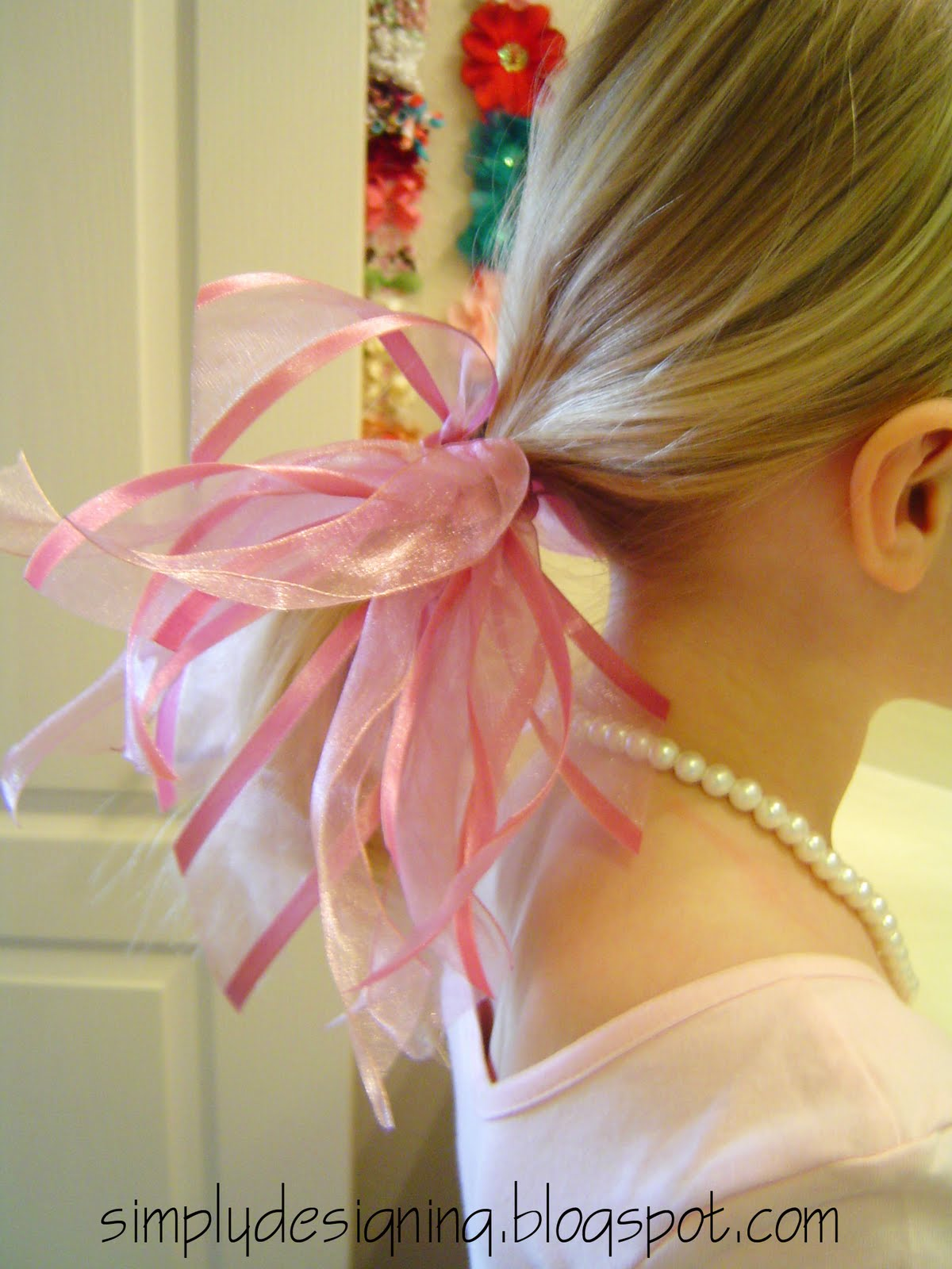 In case you missed it...so simple Fancy Ribbon TuTu and hair accessory  Tutorial 8462e44264b
