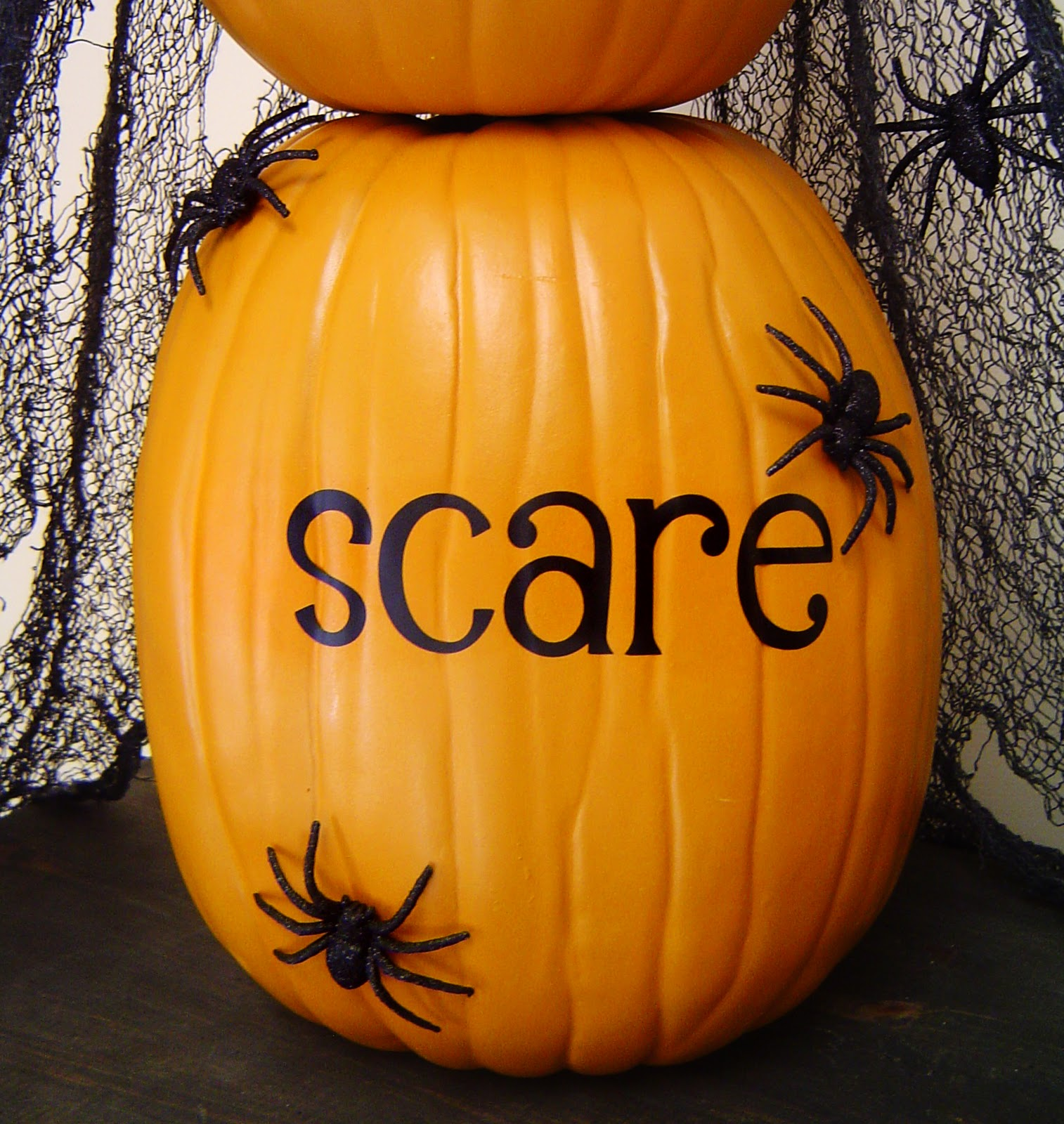 Boo Eek Scare Stacking Pumpkins