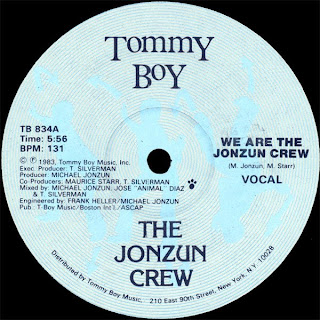The Jonzun Crew - We Are The Jonzun Crew [12'' Vinyl 1983]